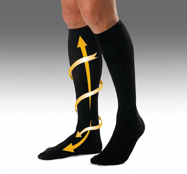 Weird Tip Wear Compression Socks To Avoid Leg Fatigue On