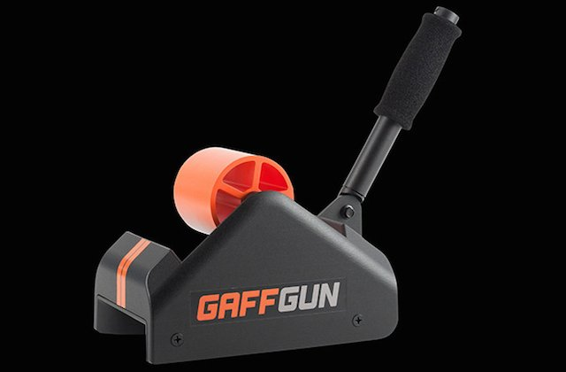 The GaffGun Helps You Tape Down Your Cables and Wires Approximately 29x Faster