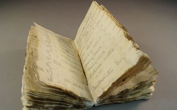 Photographer's 100-Year-Old Notebook Discovered in Antarctica After Snow Melts