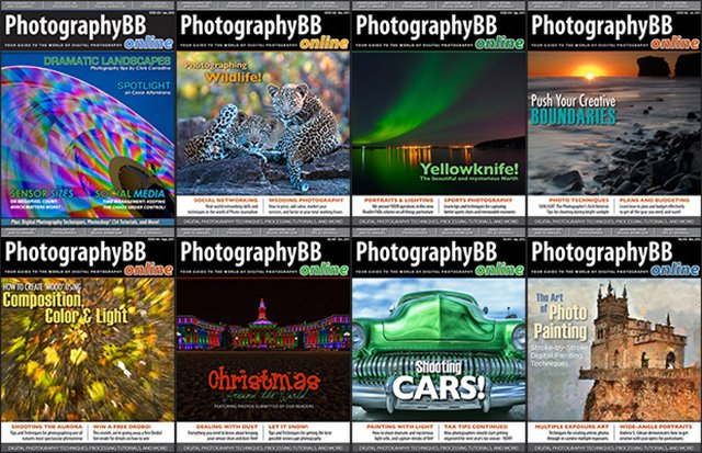 PhotographyBB Magazine Reopens Its Archives, Lets You Download All 54 Editions for Free