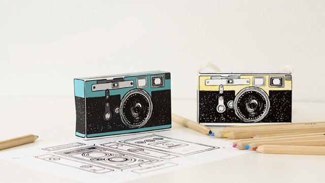 photograph regarding Camera Printable named These types of Printable Digicam Styles Are Best for Youngsters Crafts and