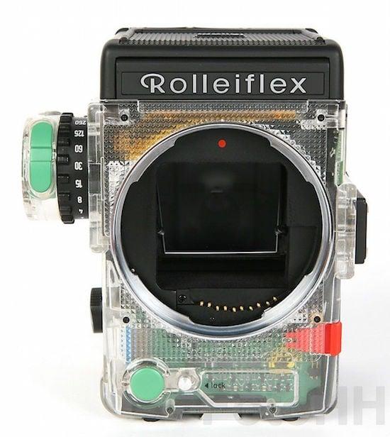 Original Rollei Prospekt-Rolleiflex 6008 AF nuevo