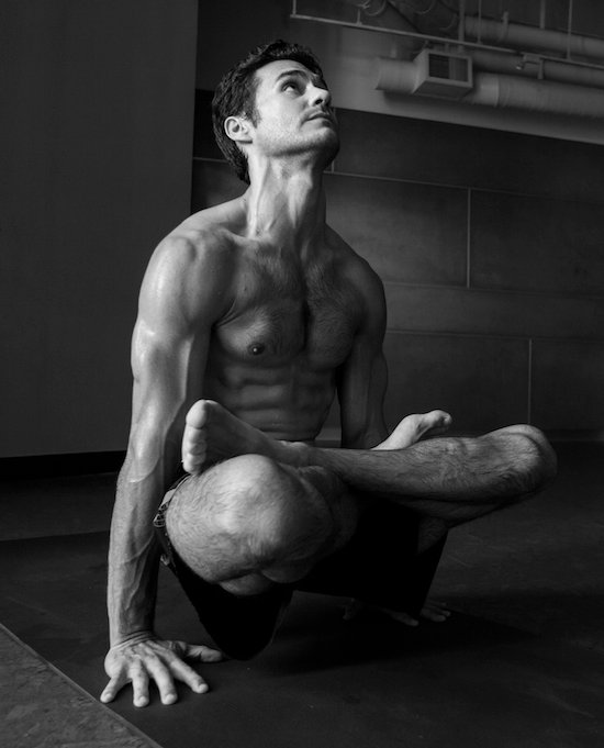 Inside the Warrior: Striking Portraits that Reveal the Masculine Side of Yoga