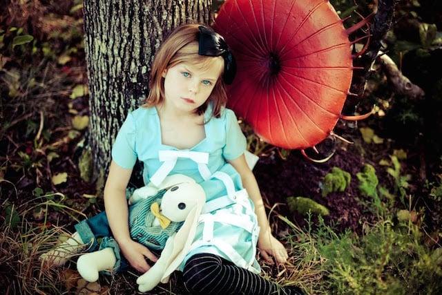 Alice as Alice in Wonderland