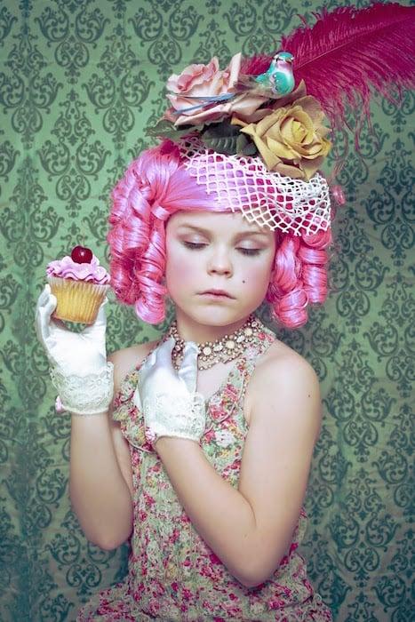 Alice as Marie Antoinette