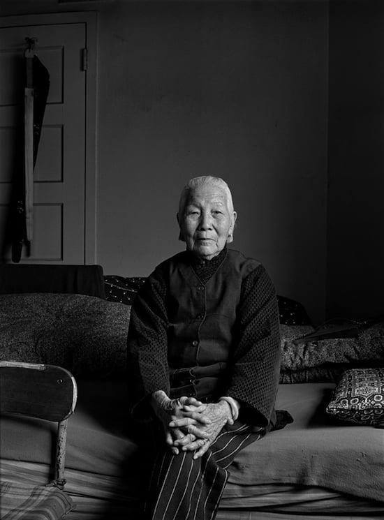 Mrs. Chiu in her apartment, 1981