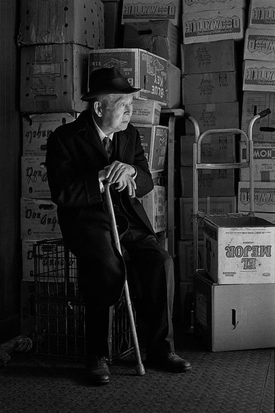 Fruit and vegetable distributor, Bayard St., 1982
