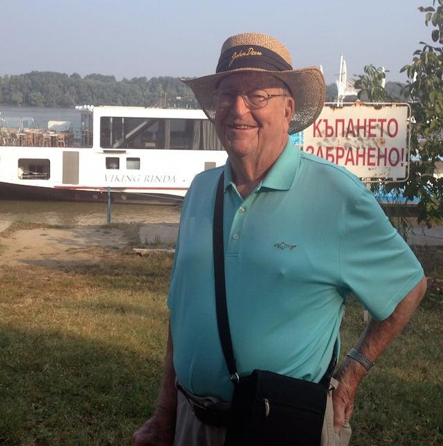 Grandpa by Rinda Boat