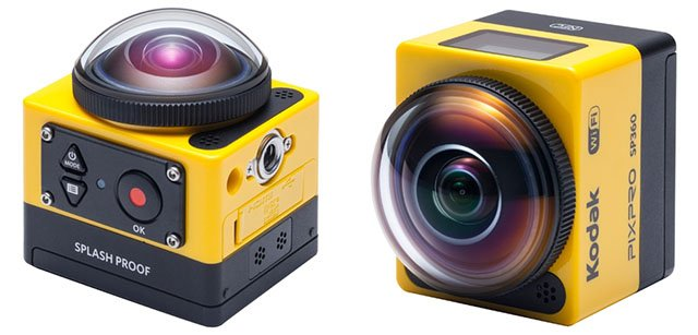 This 360° Action Cam is Kodak's Interesting Response to the GoPro