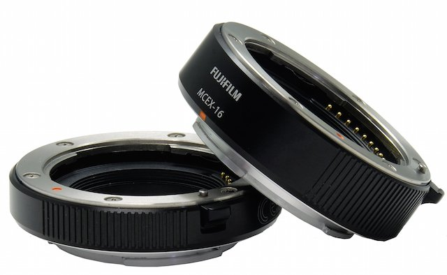 Fuji Unveils Two X-Series Macro Extension Tubes and a Serious Firmware Upgrade for the X-T1