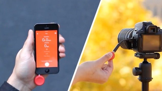 Pico is a Tiny Time-Lapse Trigger That Boils Everything Down to a Single Button