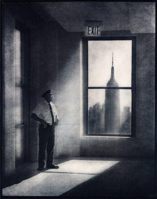 Standing-Guard