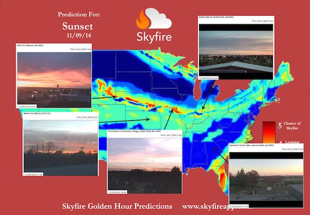 Sunset 11-9-14