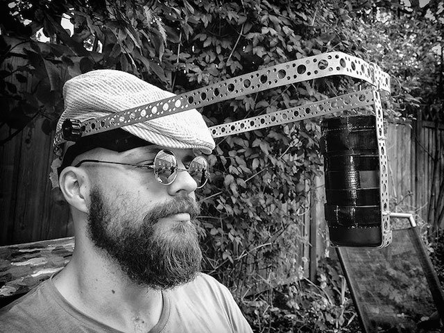 Photographer Creates Clever Pinhole Headgear to Capture Unique Selfies