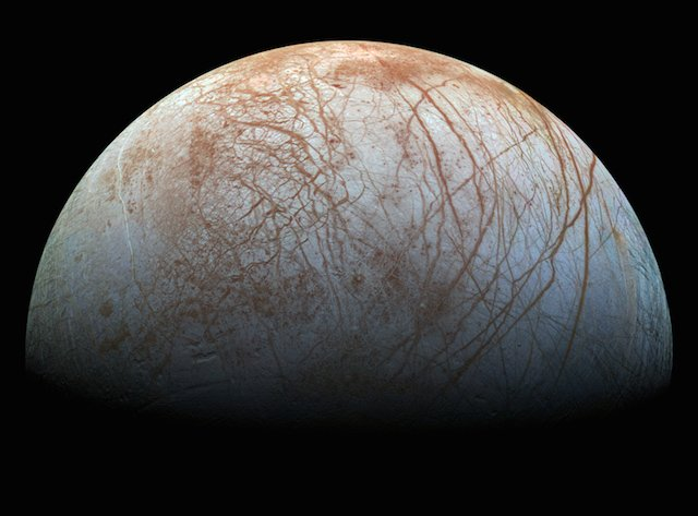 NASA Releases Spectacular New Realistic Color Image of Jupiter's Moon Europa