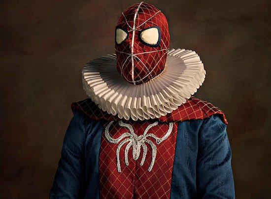 Heroes, Villains, and Pop Culture Characters Go 'Super Flemish' in 16th Century Style Portraits
