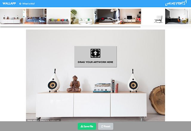 WallApp Shows You What Your Photo Would Look As Wall Art in a Room