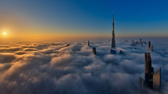 Sunrise On Cloud City 1024px