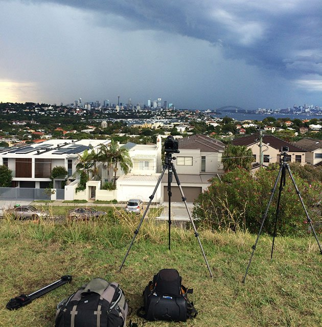 How I Shot a Time-Lapse of a Large Thunderstorm Rolling Through Sydney