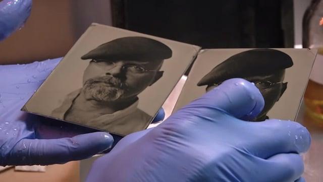 Video: MythBusters' Jamie Hyneman Gets His Tintype Portrait Taken