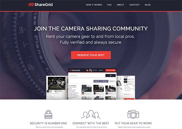 ShareGrid Allows Photographers to Safely Rent Gear To and From One Another