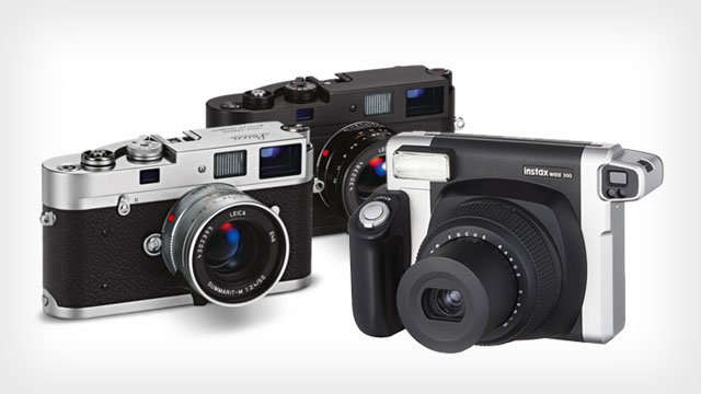 Two Sideways Cameras from Leica and Fujifilm: The M-A and the Instax 300