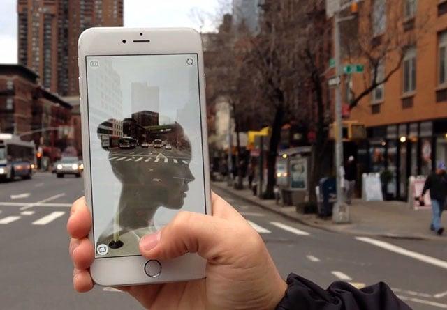 double exposure app iphone