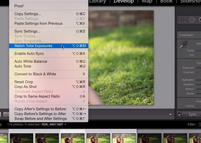 Tip: Use the Magical 'Match Total Exposures' Feature in Lightroom for a Quick Fix