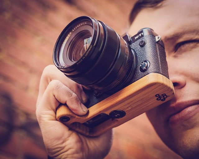 Bamboo Grips Designed to Add Looks, Ergonomics, and Protection to Your Camera