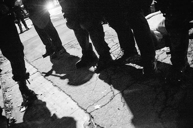 Berkeley Protests Late Saturday Night Decemeber 6
