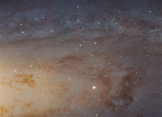 What 100 Million Stars Looks Like: NASA Releases a 1.5 Gigapixel Photo of the Andromeda Galaxy
