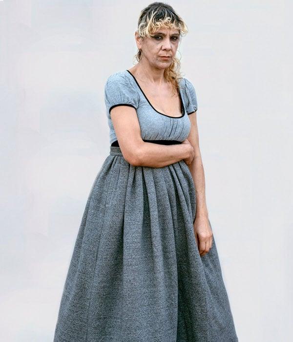 Georgiana, Dalston, wears Ashish