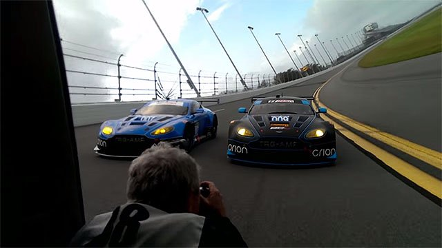 Shooting Aston Martins From A Minivan At 120MPH On The
