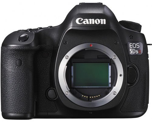 The Canon EOS 5DS R features a 50.6 megapixel full frame sensor.