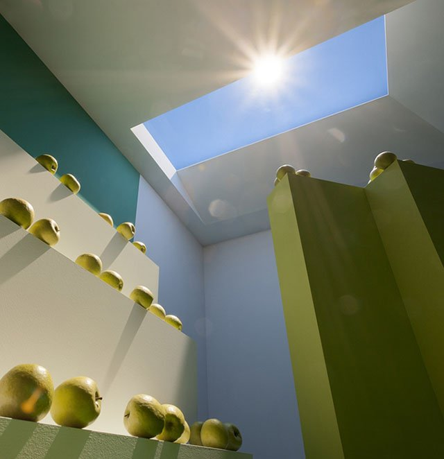 Coelux artificial sunlight that 39 s real enough to trick for Lighting packages for new homes
