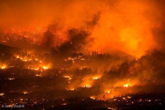 Round Fire, Swall Meadows, California