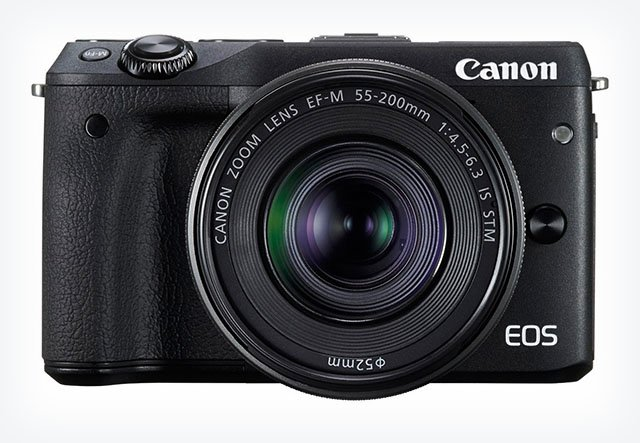 Canon Unveils the M3: A 24.2MP Mirrorless That Feels More Like a DSLR in a Compact's Body