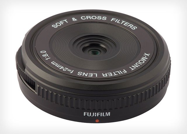 Fuji's New XM-FL is an X-Mount Body Cap Lens with Built-In Photo Filters