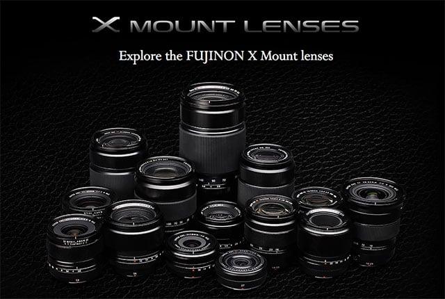 Explore Fujifilm X-Mount Lenses with This Interactive Test Website