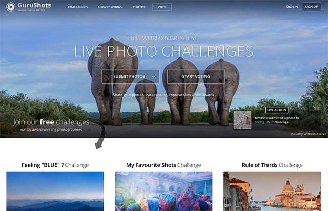 GuruShots is a Sleek Online Photo Contest with Real-Time Challenges