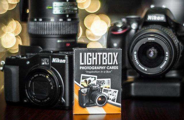 LightBox Photography Cards Provide a Deck Full of Photo Inspiration and Challenges