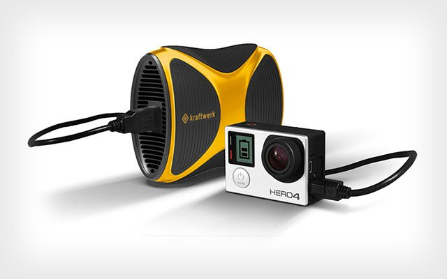 kraftwerk: A Portable Power Plant That Can Charge Your Camera with Standard Gas