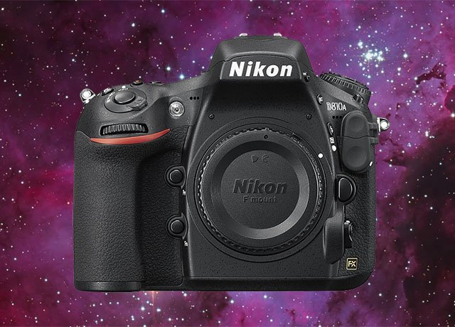 The Nikon D810A is the World's First Full Frame DSLR for Astrophotography