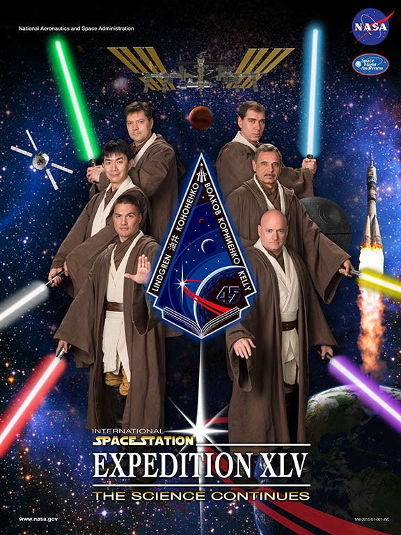 NASA Creates Movie Parody Posters Featuring Its ISS Expedition Astronauts