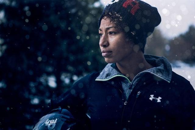 Portrait of bobsled pilot, Jazmine Fenlator, Team USA