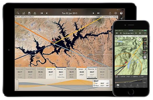 The Photographer's Ephemeris Launches Version 3 0 for iOS