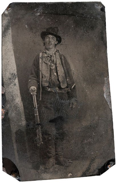 The only known photo of Billy the Kid that was sold for $2.3 milion