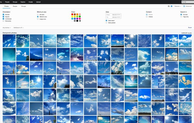 Flickr is Rolling Out a More Powerful Search Engine with New Filters, Users, and Groups