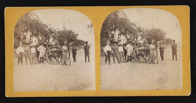 Southern artillery militia, Charleston