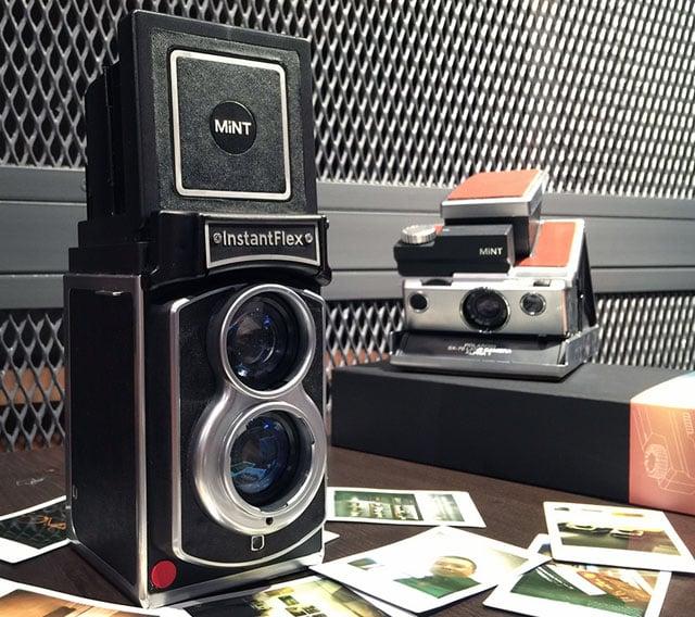InstantFlex TL70 is a Rolleiflex Twin-Lens Reflex Clone for Instax Instant Photos